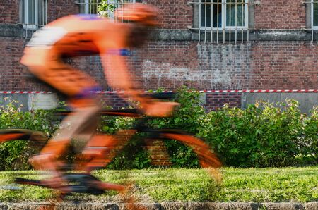 CYCLING RACE - The athletes fight for victory