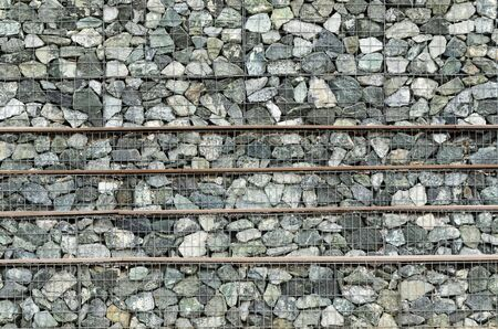 STILL LIFE - An element of infrastructure built of stones Stock Photo