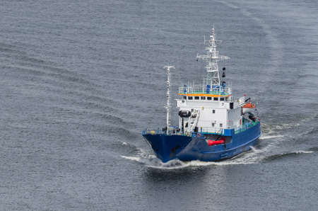 MULTIFUNCTIONAL VESSEL - The ship is sailing in the sea