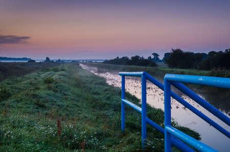 RIVER VALLEY - Autumn morning landscape