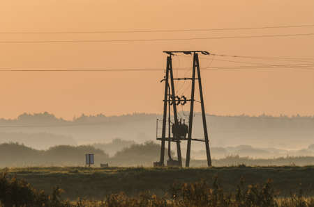 POWER ENGINEERING - Electric transformer on the pole