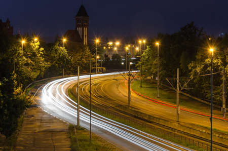 CITY ROAD - Infrastructure in the night landscape