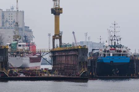 SHIPYARD - Merchant vessels and repair docks
