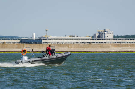 LIFEGUARD - Sea patrol on a fast boat
