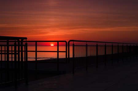 SUNRISE OVER THE SEA - Morning on the seashore