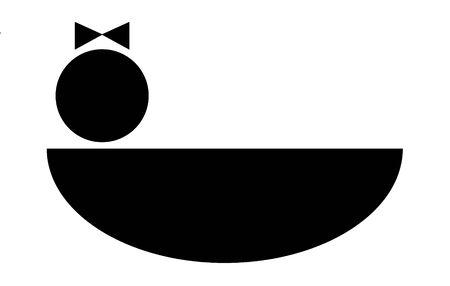 bassinet:  girl black graphic in a bassinet