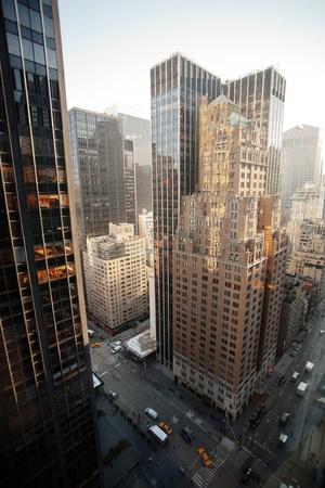 ニューヨーク市の建物 写真素材