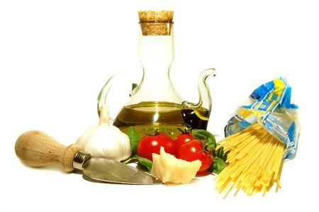 Italian spaghetti Zdjęcie Seryjne - 825313