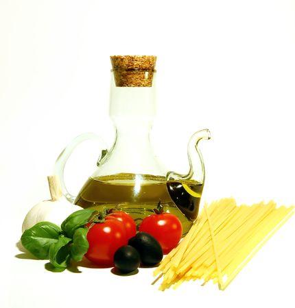 Italian spaghetti Zdjęcie Seryjne - 825317