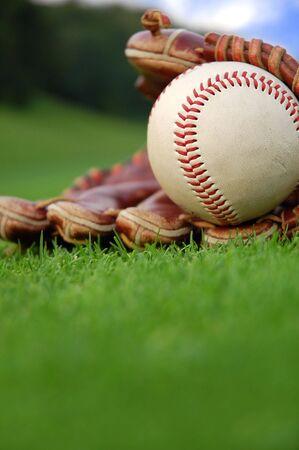 夏季の野球 写真素材