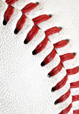 Baseball textuur Stockfoto