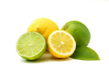 Citroenen en limoenen van groen