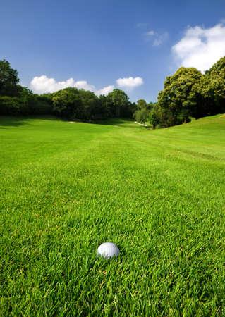 Golf course Zdjęcie Seryjne - 3220767