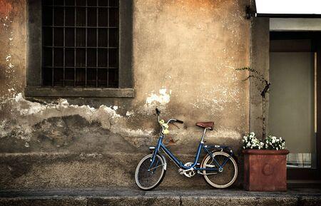 イタリアの古いスタイルの自転車