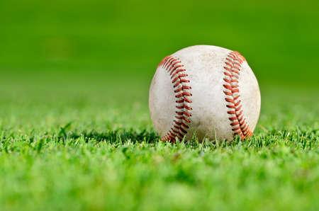 Baseball closeup