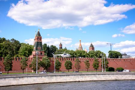El helicóptero del Kremlin, despega del territorio del Kremlin