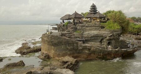 Temple Tanah Lot Bali Island, view from the top.