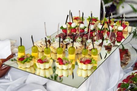 Delicious appetizer close-up Foto de archivo