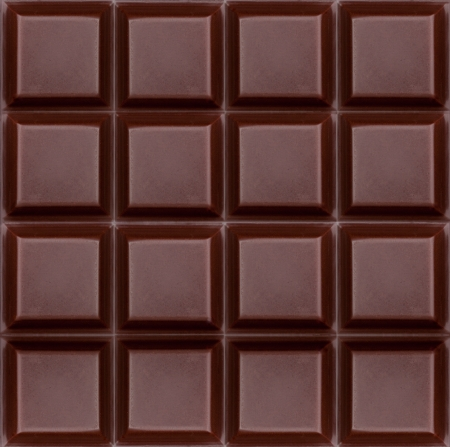 dark chocolate bar as background