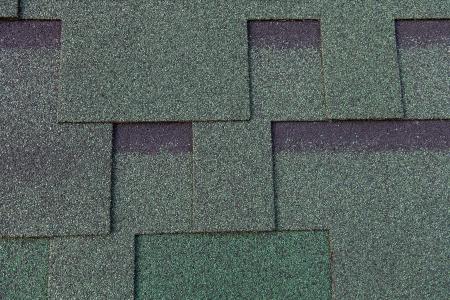 Texture of bitumen shingles close up abstract background Foto de archivo
