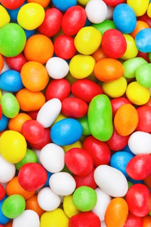 jelly beans: Colorful candies dragees as background or texture