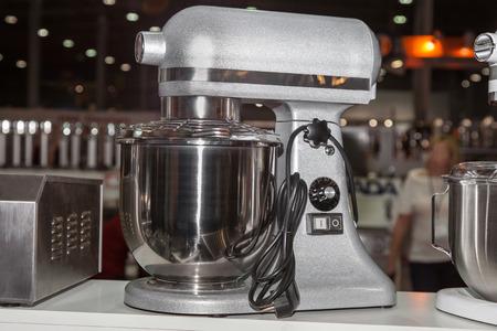 Food processor, presentation equipment Foto de archivo