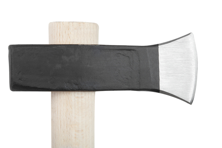 Axe isolated on white background with clipping paths