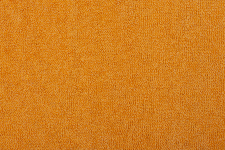 Abstract background with yellow texture, terry cloth fabric, full frame, close-up Imagens - 96548520
