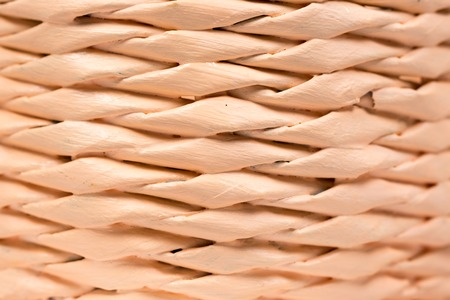 basketry: Close up macro woven basket abstract background