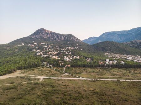 Beautiful mountains view in the Montenegro.