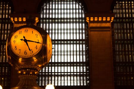 old clock in central station
