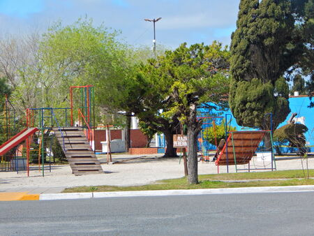 pretty square with playground