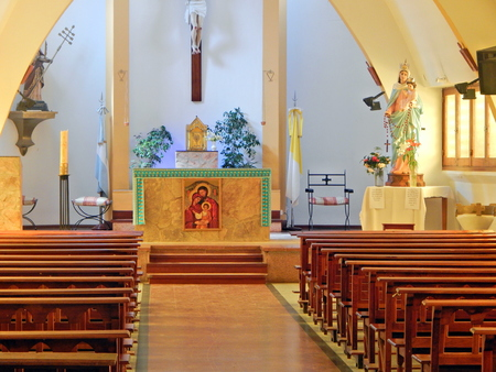 beautiful Catholic church Editorial