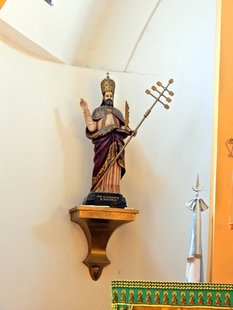 protecting saint of St. Clement tuyu Imagens