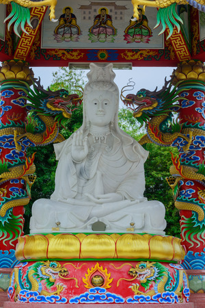 quan yin: The Goddess of Mercy, known as Quan Yin