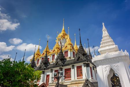metallic: Metallic castle, Bangkok, Thailand Stock Photo