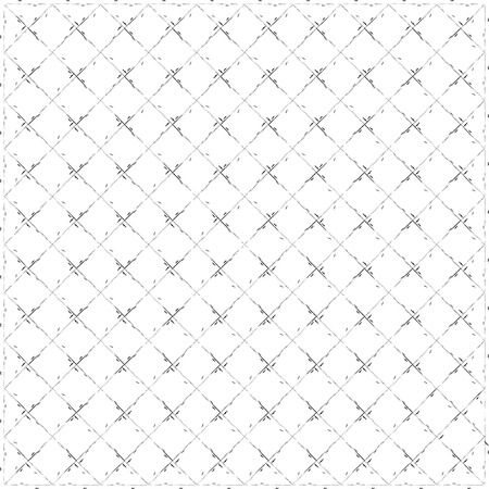 Black and white square pattern background. Repeating diamond shapes. Abstract seamless patterns.