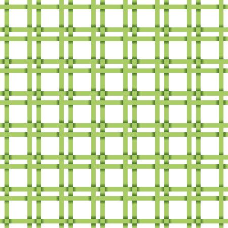 patterning: Green tile basket weave pattern. Seamless square pattern. Illustration
