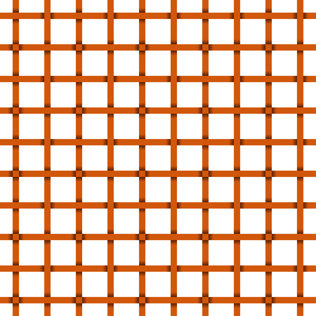 Brown tile basket weave pattern. Seamless square pattern. Illustration
