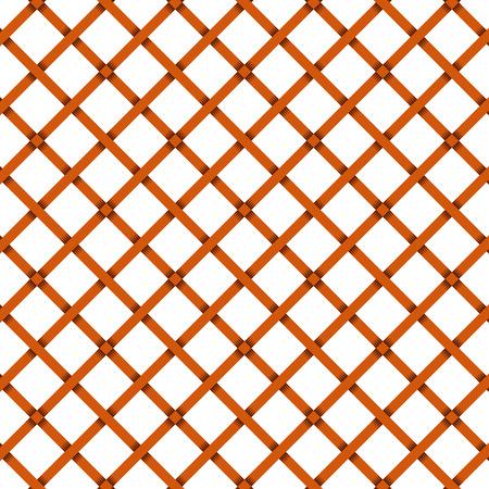 Brown tile basket weave pattern. Seamless square pattern.