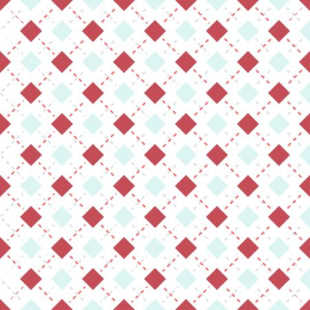 dashed: Square pattern background. Illustration of abstract texture with squares. Dashed line pattern.