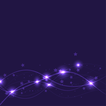 star background: Star shape background. Abstract background in purple. Illustration