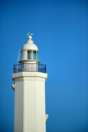 port isabel: a lighthouse Stock Photo