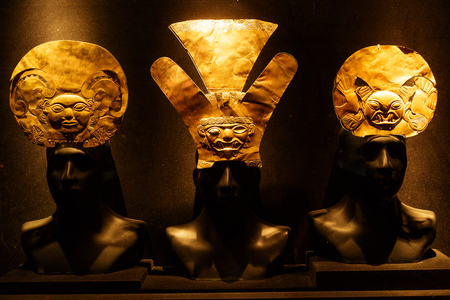Inca Gold Jewelery Editorial