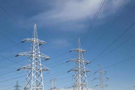 High Voltage Power Line Pylons