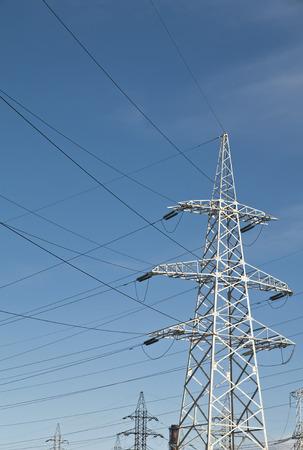 High Voltage Power Line Pylons