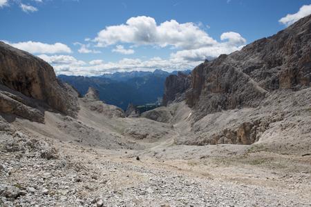 rosengarten: Catinaccio - Passo delle Scalette (Italy)