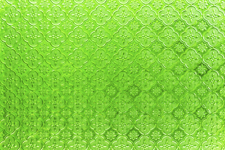 Green stained glass texture foe 版權商用圖片