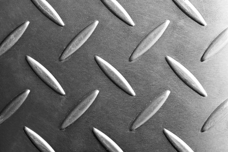 emboss: metal plate close-up in black and white scene,emboss pattern texture of metal plate or metal sheet for anti-slip