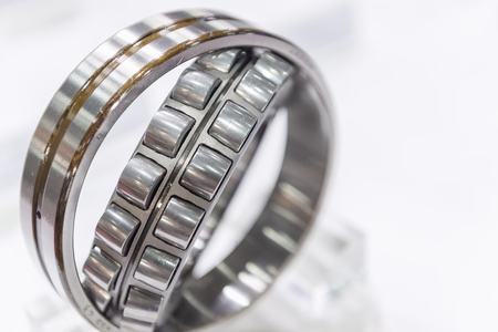stainless steal: Close-up of the rolling bearing,explore the rolling bearing